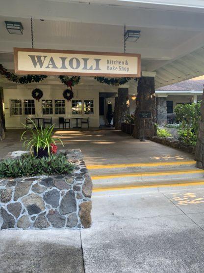 Waioli kitchen and cafe